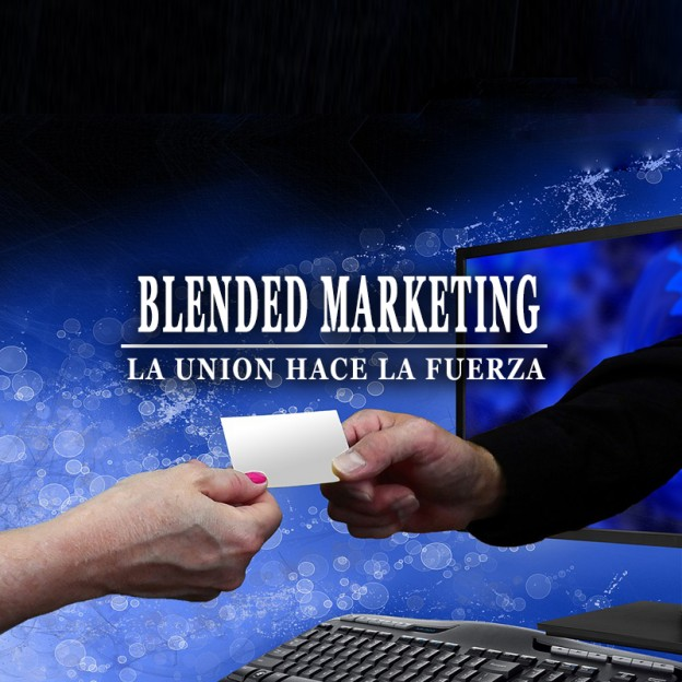 Blended marketing