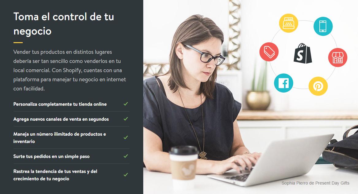 como crear una tienda online gratis con Shopify