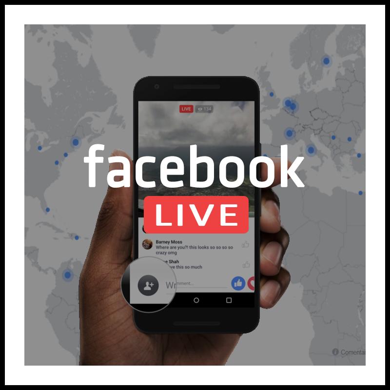 ue es Facebook Live