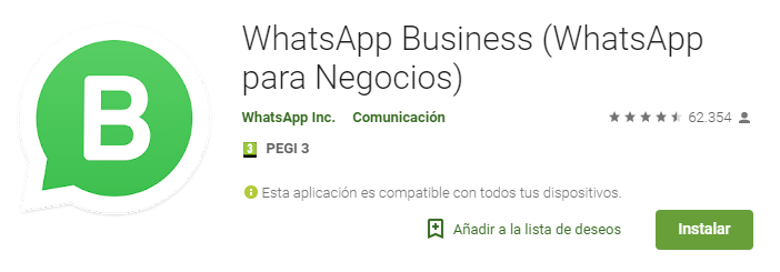 whatsapp business - whatsapp para empresas app