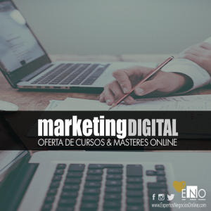 Oferta cursos & masters de Marketing Digital