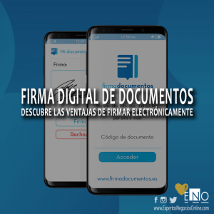 Firma digital de documentos - Firma electrónica