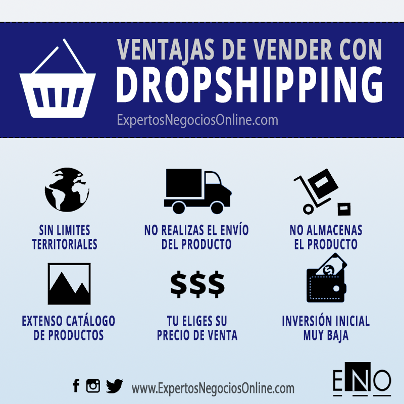 ventajas dropshipping | vender sin stock