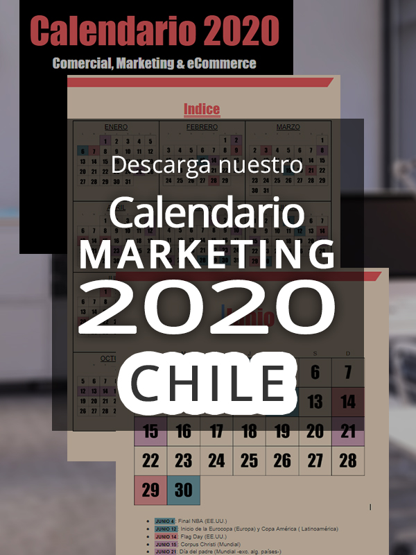 anuncio Calendario ecommerce 2020 Chile