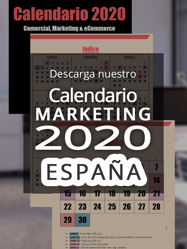 anuncio Calendario marketing 2020 España