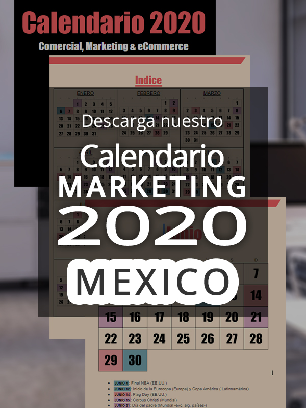 anuncio Calendario ecommerce 2020 Mexico