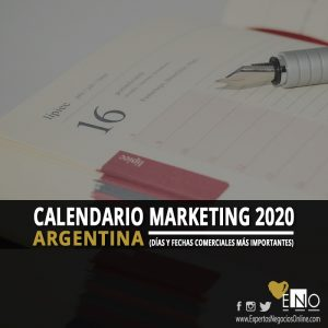 Calendario comercial 2020 Argentina | Calendario Marketing 2020 Argentina