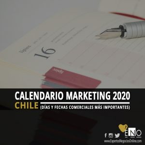 Calendario comercial 2020 Chile | Calendario Marketing 2020 Chile