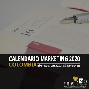Calendario comercial 2020 Colombia | Calendario Marketing 2020 Colombia