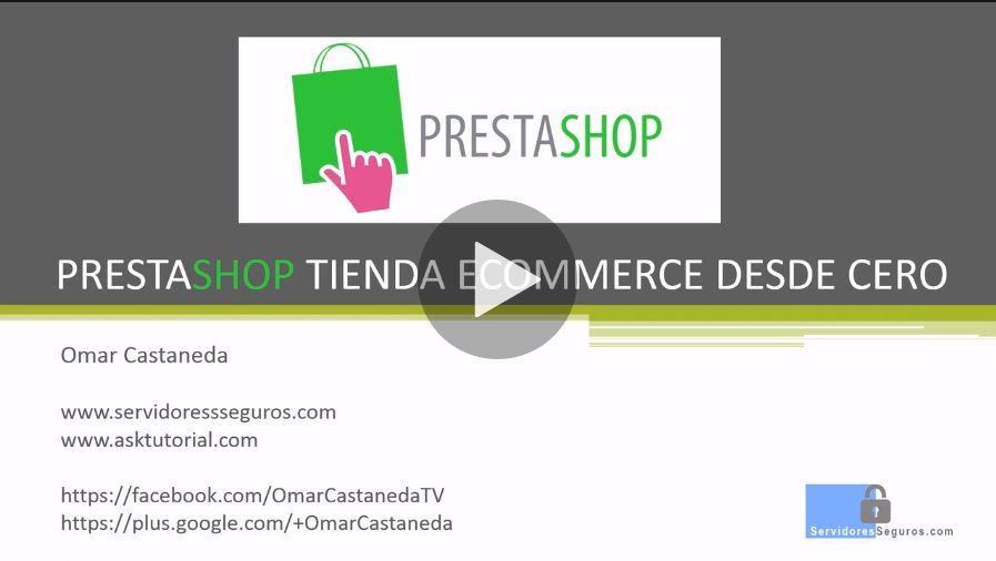 Curso digital gratis eCommerce con PrestaShop