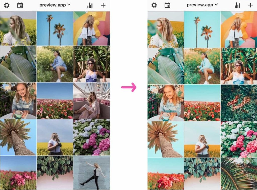 Filtros para Instagram Stories - Preview
