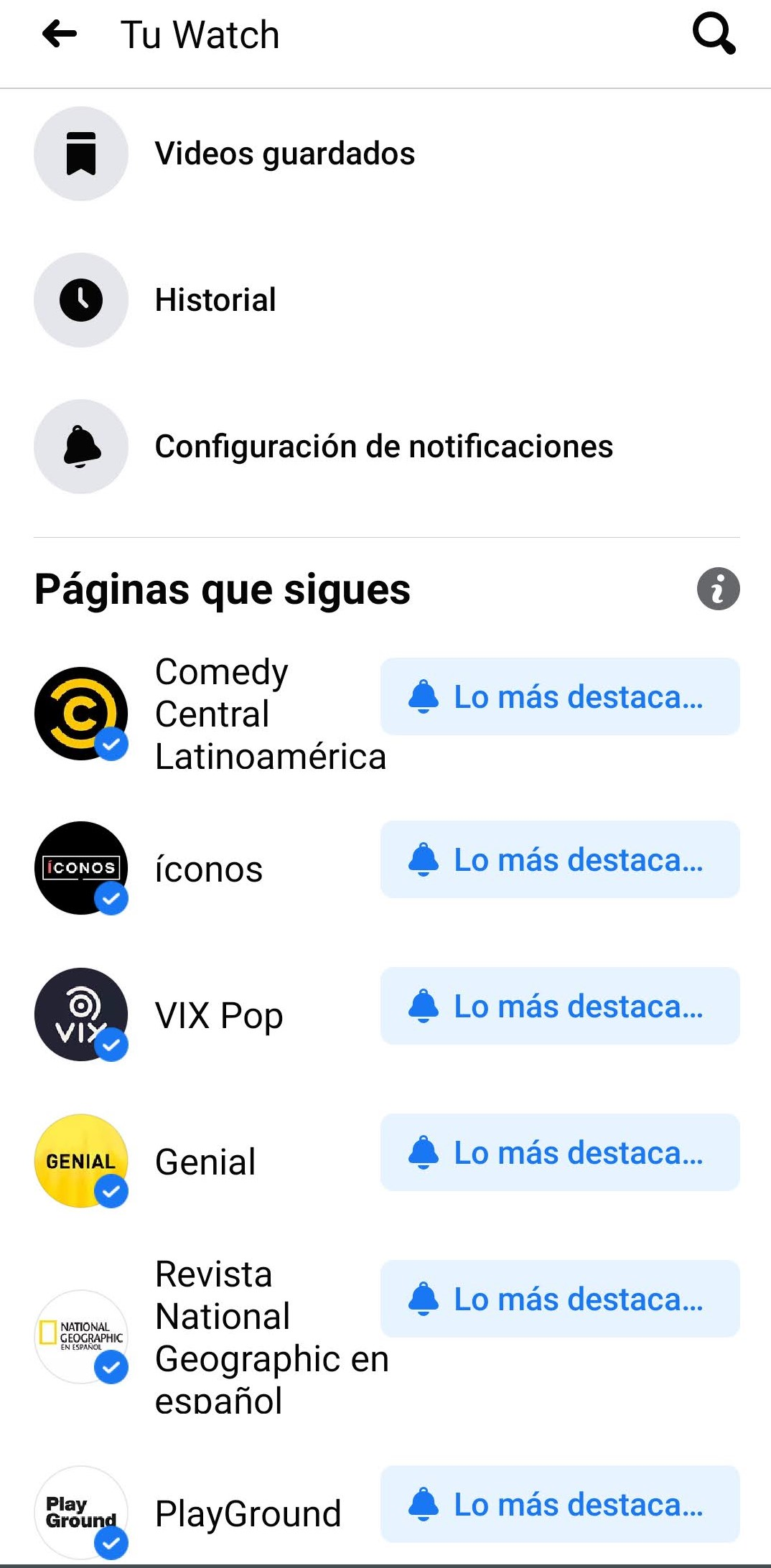 Cómo funciona Facebook Watch
