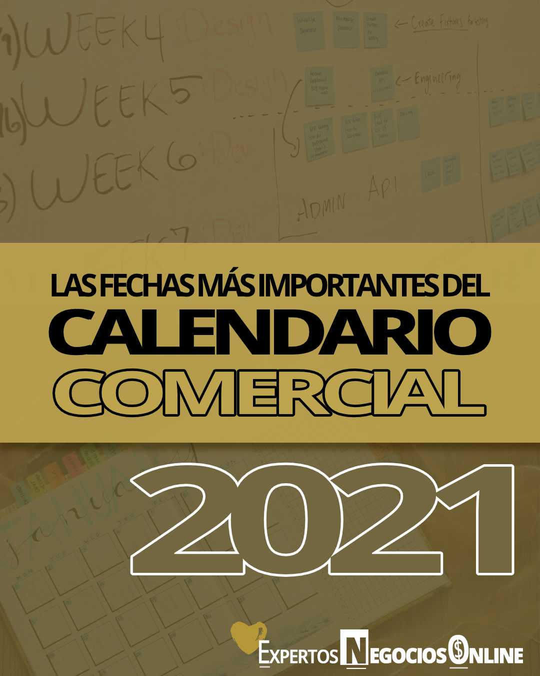 Calendario comercial 2021 para Marketing & eCommerce