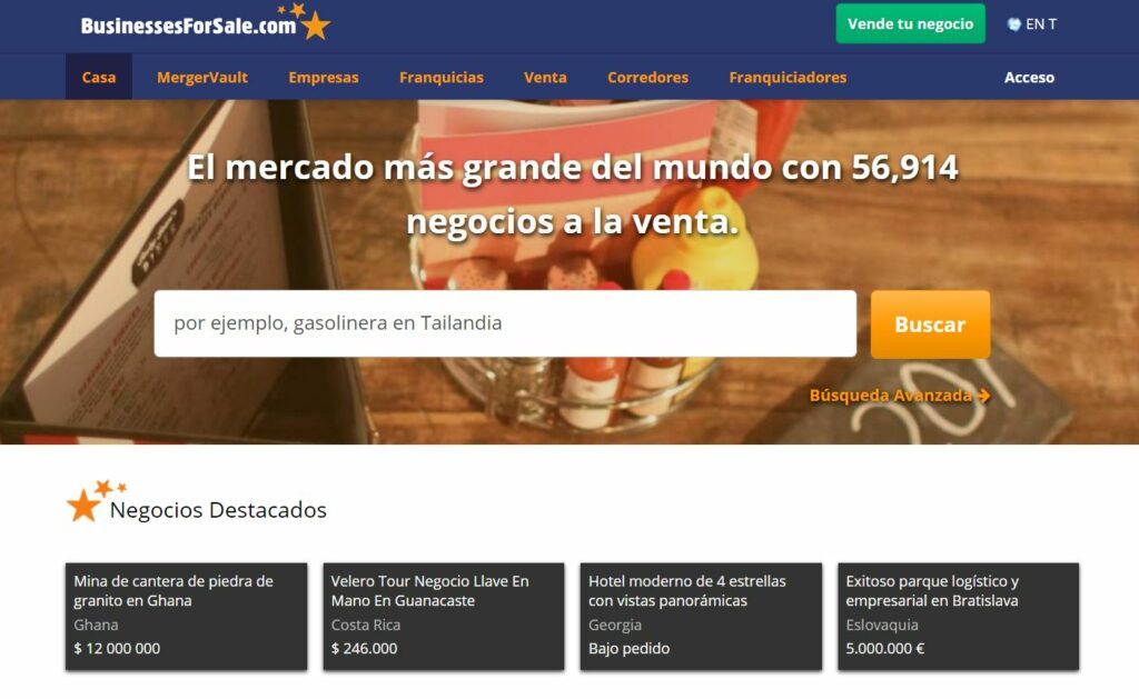 Business for Sale - negocios online